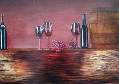 Bodegón del vino