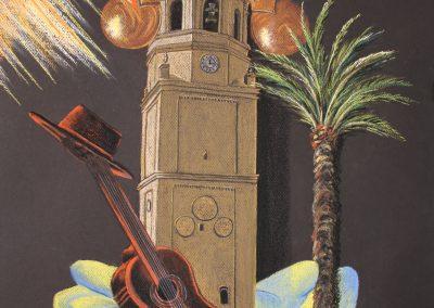 Cartel III Festival Polifonía Andaluza Coral Amigos de la Música 2016 (pastel)