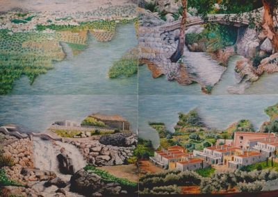Mural Villa Turística de Periana