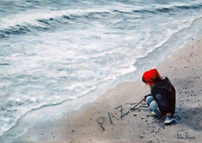 Niño en la arena